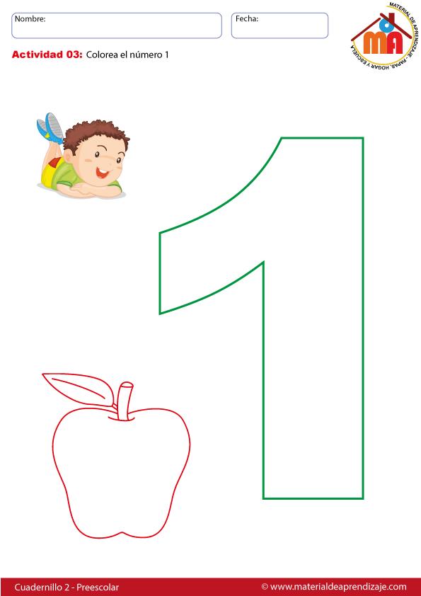 03-número-1-colorear