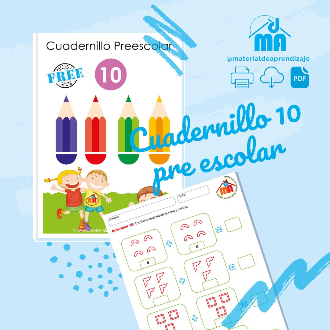 _Cuadernillo 10 Preescolar