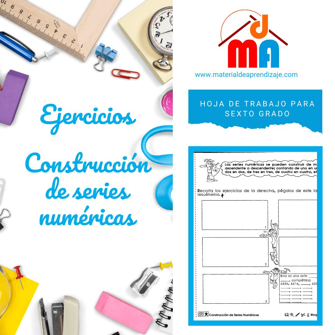 003 Construcción de series numéricas