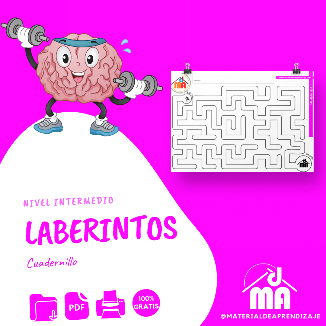 Laberintos intermedio