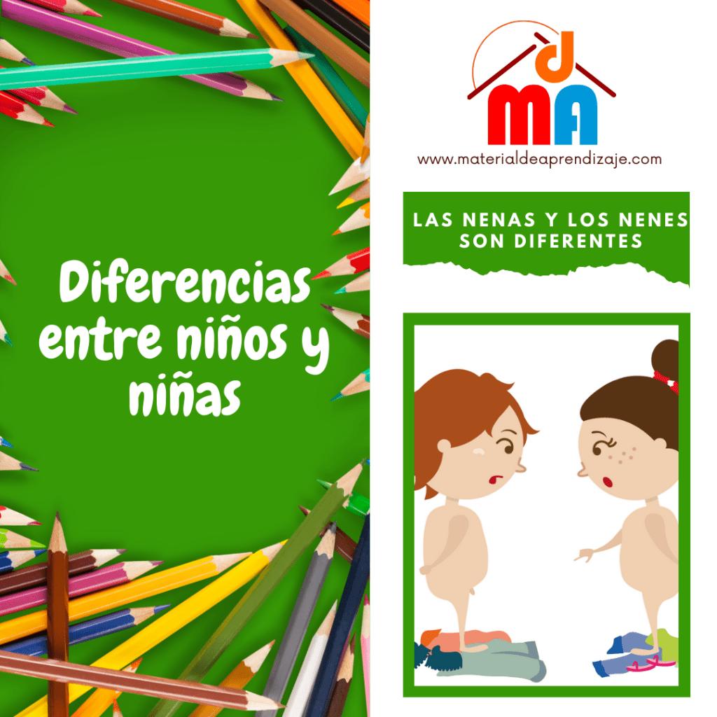 Diferencias entre niños y niñas