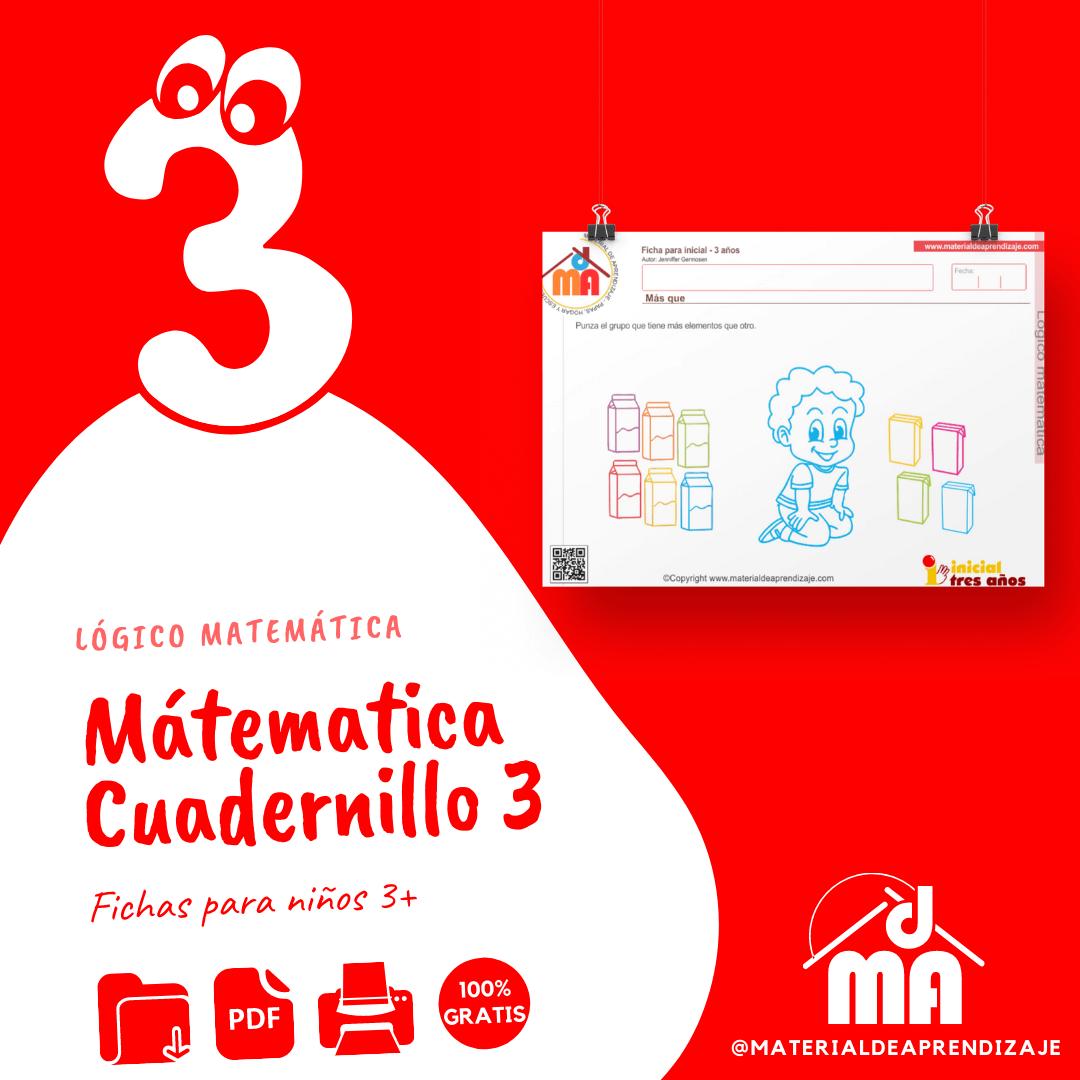3 años matemáticas (4)