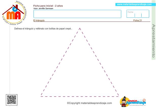 21 Aprestamiento 2 años - el triángulo