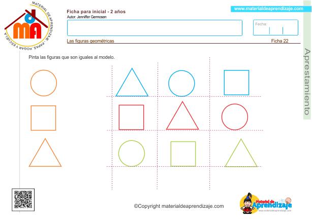 22 Aprestamiento 2 años - figuras geométricas