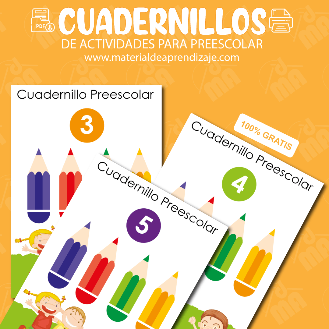 Cuadernillos preescolar pdf