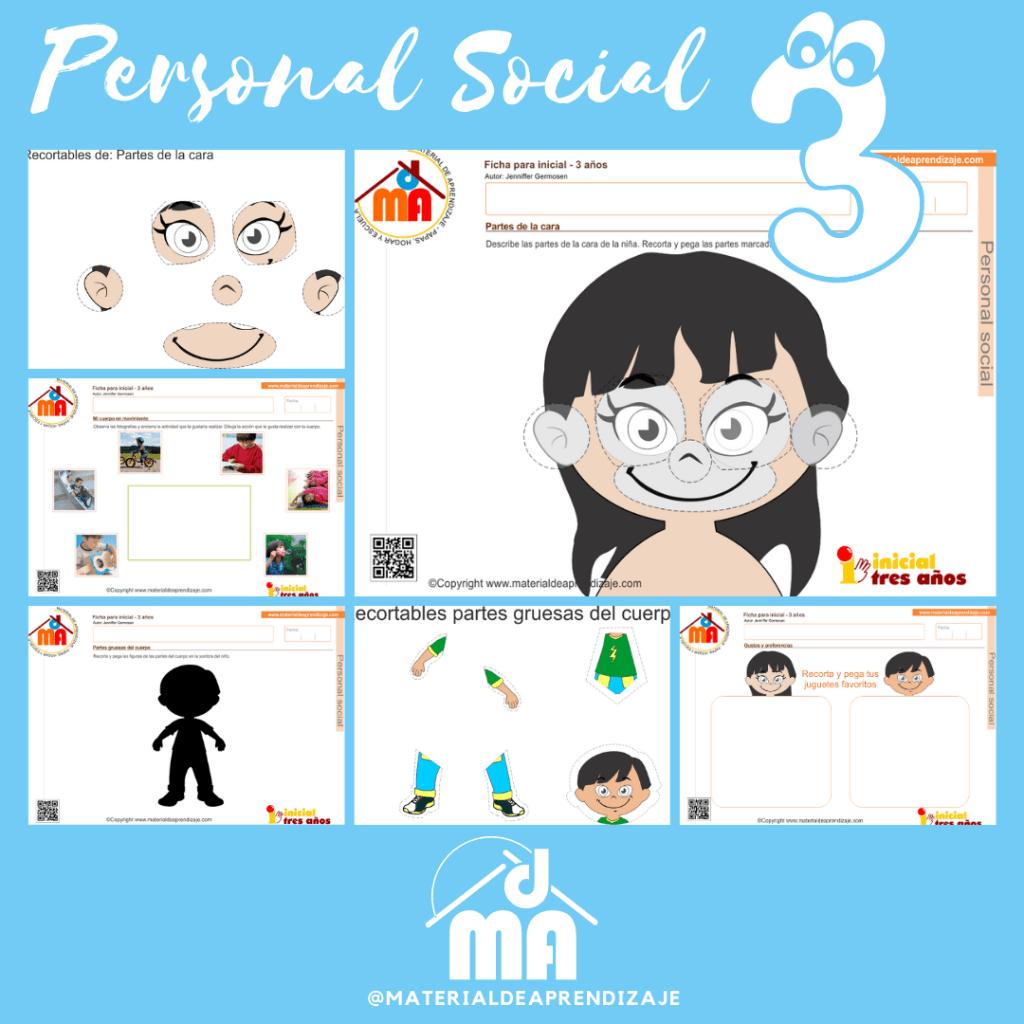 Personal Social 3 años 3