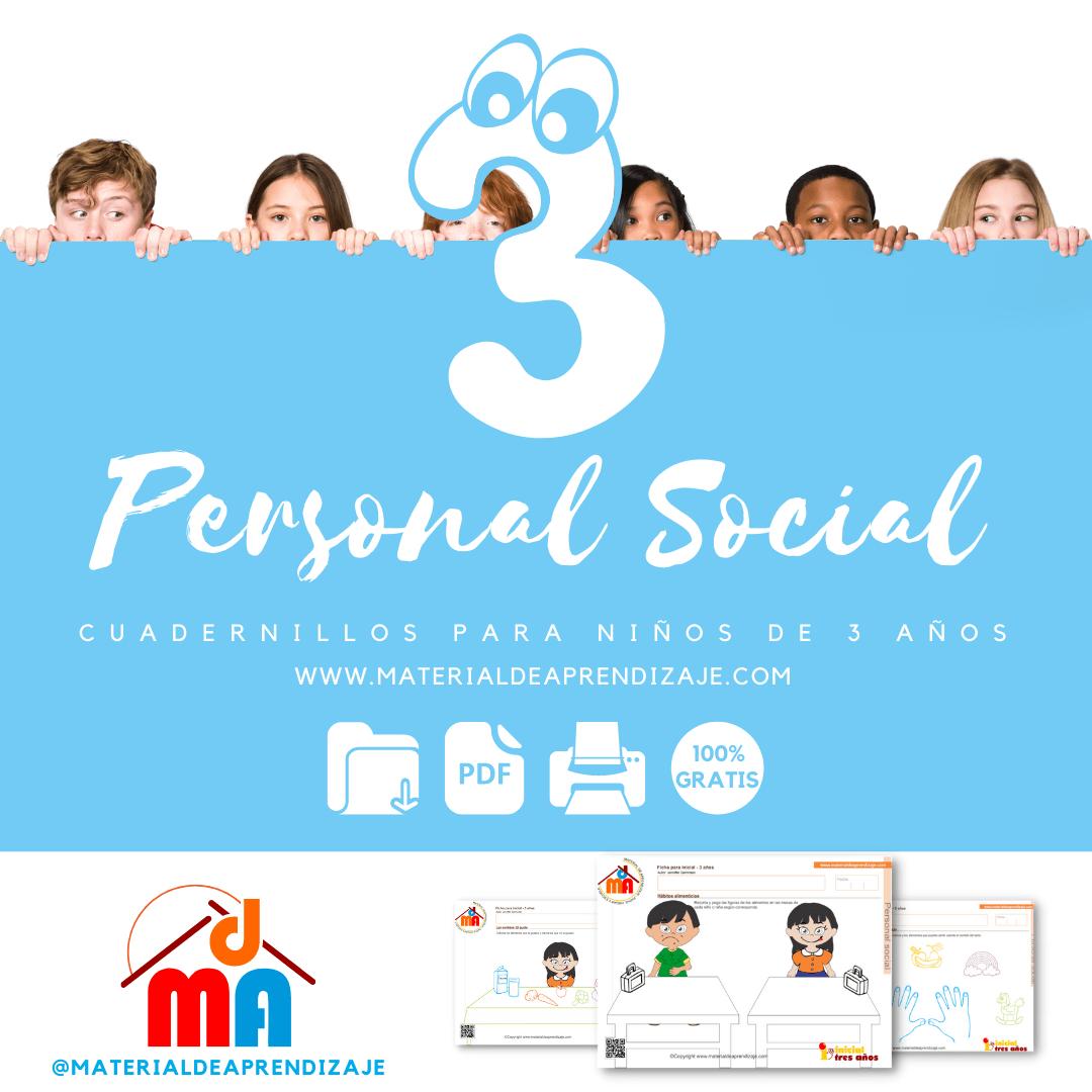 Personal social 3 años
