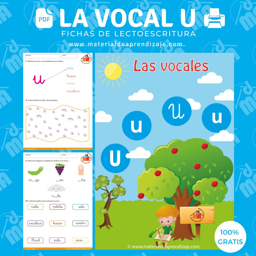 La vocal u
